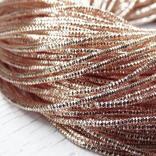 ТК014НН1 Трунцал, цвет: розовое золото, размер: 1,5 мм, 5 грамм