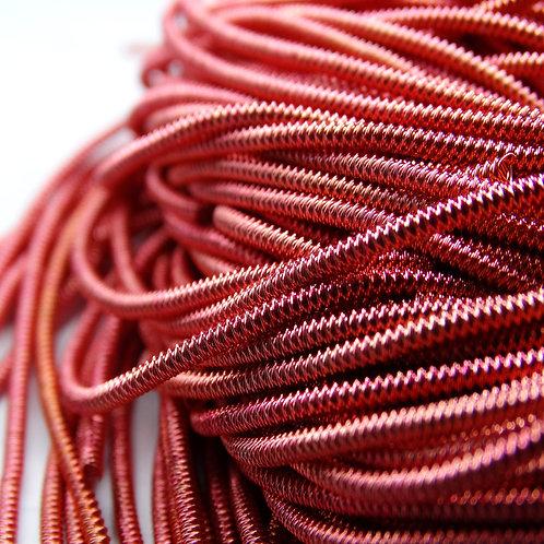 "ТЗ009НН1 Трунцал фигурный ""зигзаг"", цвет:розово-красный, размер: 1,5 мм, 5 гр."