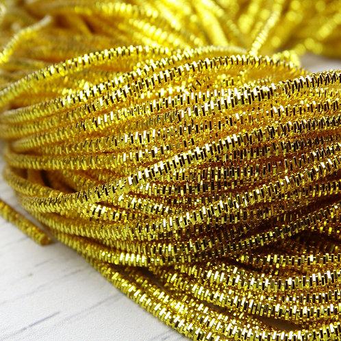 ТК007НН1 Трунцал, цвет: желтое золото, размер: 1,5 мм, 5 грамм