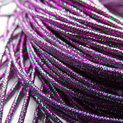 ТМ006НН1 Трунцал металлизированный МИКС, цвет: фиолетовый, 1,5 мм, 5 грамм.