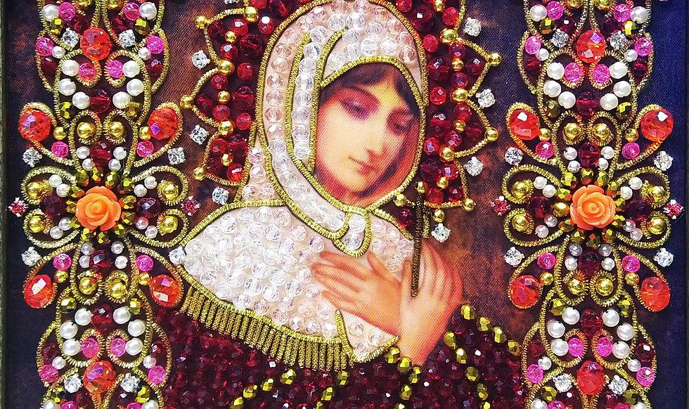 Набор для вышивания хрустальными камнями Святая Анастасия Узорешительница