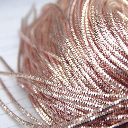 ТК014НН07 Трунцал ювелирный, цвет: розовое золото, размер: 0,7 мм, 5 грамм