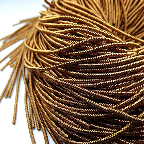 """ТЗ007НН1 Трунцал фигурный """"зигзаг"""", цвет: бронза, размер: 1,5 мм, 5 грамм"""