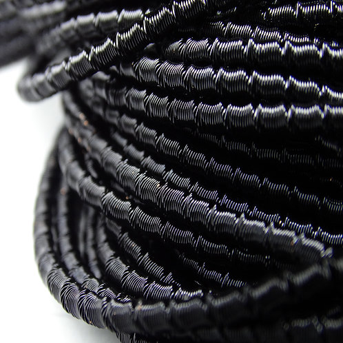 "ТБ018НН2 Трунцал фигурный ""бамбук"", цвет: черный, размер: 2 мм, 5 гр."