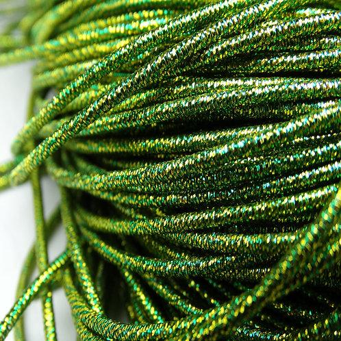 ТМ001НН1 Трунцал металлизированный МИКС, цвет: салатовый, 1,5 мм, 5 грамм.