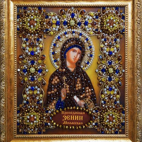 Набор для вышивания хрустальными камнями Святая Ксения Миласская