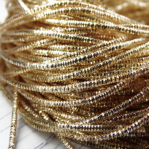 ТК005НН1 Трунцал, цвет: светлое золото, размер: 1,5 мм, 5 грамм