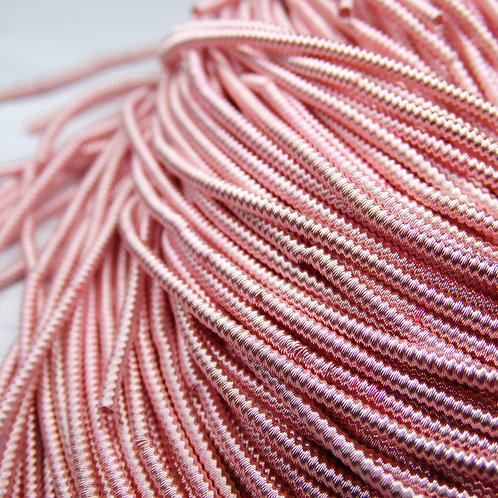 "ТЗ008НН1 Трунцал фигурный ""зигзаг"", цвет: розовый, размер: 1,5 мм, 5 грамм"