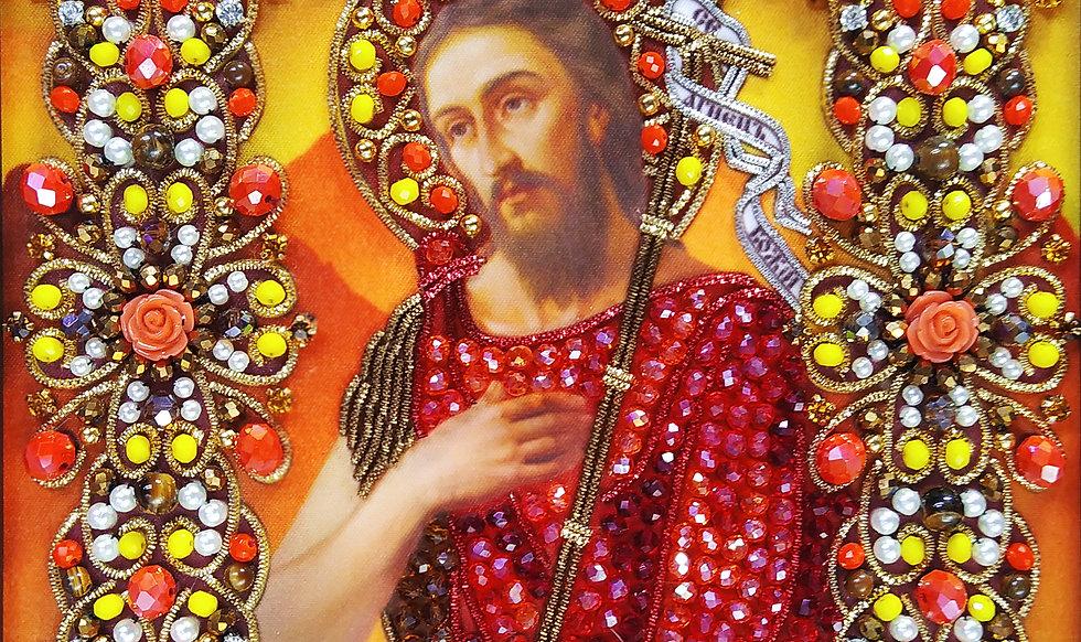 Набор для вышивания хрустальными камнями Святой Иоанн Креститель