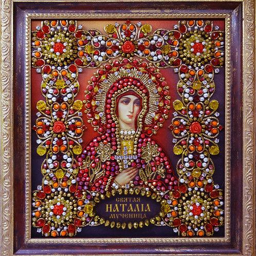 Набор для вышивания хрустальными камнями Святая Мученица Наталия Никомидийская