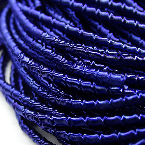 """ТБ016НН2 Трунцал фигурный """"бамбук"""", цвет: синий, размер: 2 мм, 5 гр."""