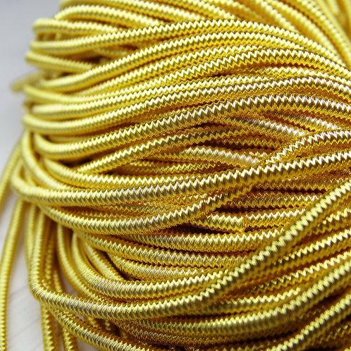 """ТЗ005НН1 Трунцал фигурный """"зигзаг"""", цвет: желтый, размер: 1,5 мм, 5 грамм"""