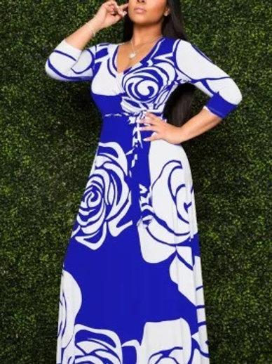 Beautiful Floor Length Print Dresses