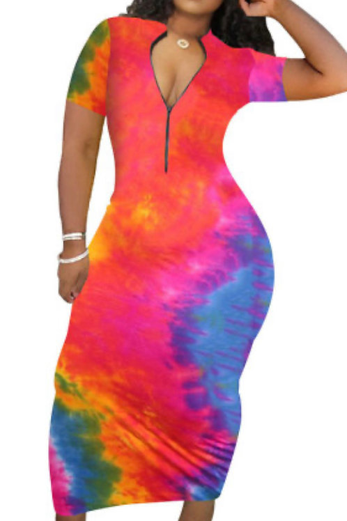 Beautiful Printed Casual Dresses