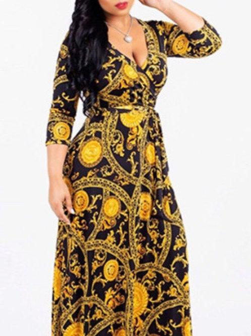 Plus Size Beautiful Printed Dresses