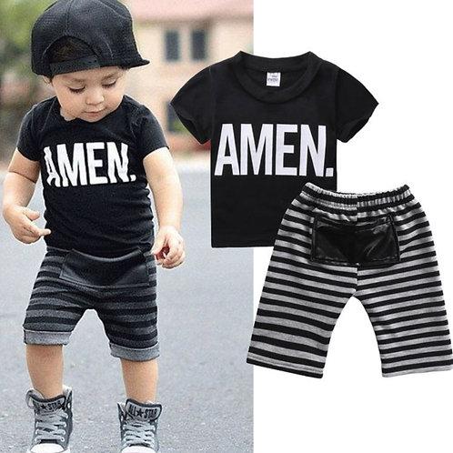 Boys 2 piece T Shirt & Pants