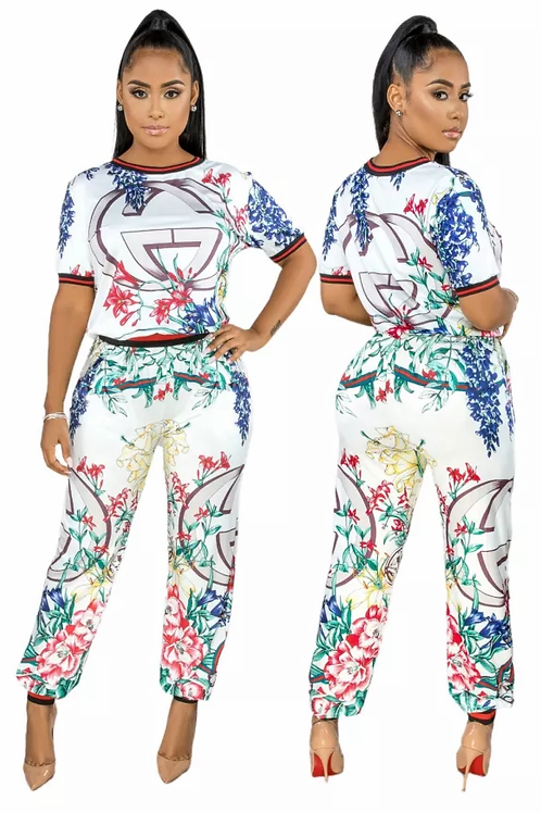 Gorgeous Printed Two Piece Sets