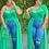 Thumbnail: Asymmetrical Solid Mesh Plus Size