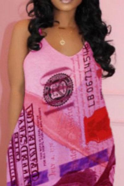 Ladies Printed Maxi Dresses