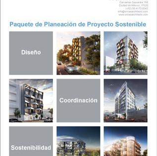 Paquete de Planeación de Proyecto Sostenible
