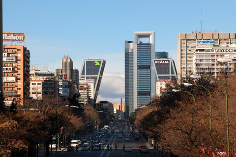 Daytime View from Castellana