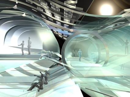 Photokinetic House - Interior