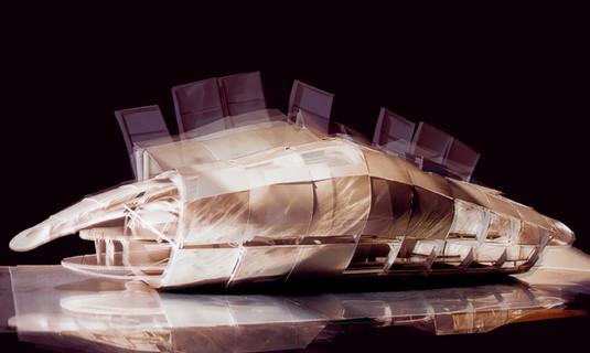 British Pavilion Model