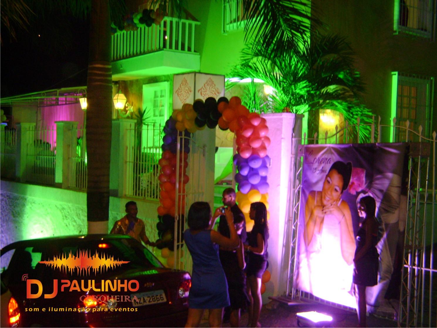 Iluminação Aniversário Lauro Freitas