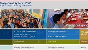 "PFMS/DBT की Full Form क्या है?""Check your payment status"""