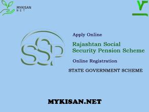 Rajssp - Rajasthan Social Security Pension Yojana