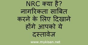 NRC क्या है? नागरिकता साबित करने के लिए दिखाने होंगे आपको ये दस्तावेज