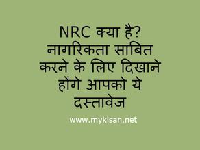 What is NRC (एनआरसी), NRC Documents List