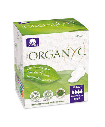 ORGAN(Y)C organic cotton sanitary pads, liners