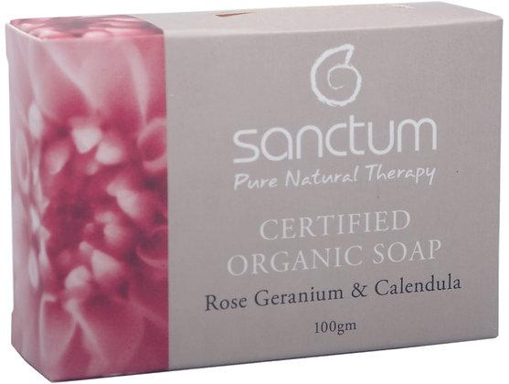SANCTUM soap - certified organic
