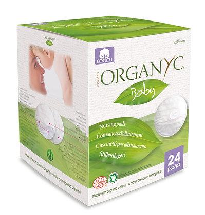 ORGANYC nursing pads - 24pk