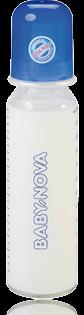 BABY NOVA glass baby bottle 250ml