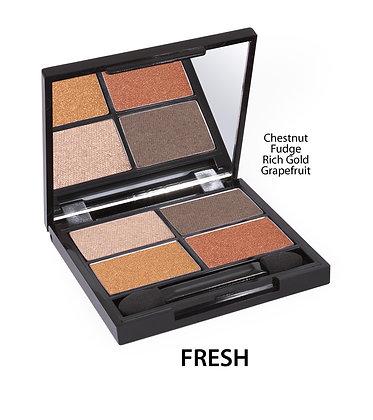 ZUII organic eyeshadow quad palette
