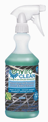 ENVIROCLEAN heavy duty (oven/BBQ) cleaner - 750ml