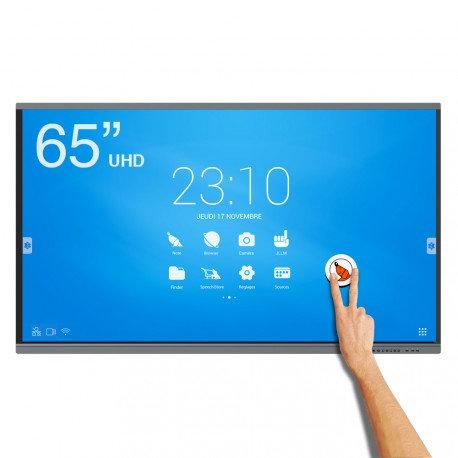 Ecran interactif tactile Android SpeechiTouch UHD - 65''