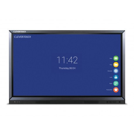 "Ecran interactif tactile Android CleverTouch V - 86"" 4K"