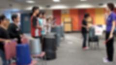 bucket drumming workshop