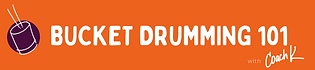 Bucket Drumming 101 Logo