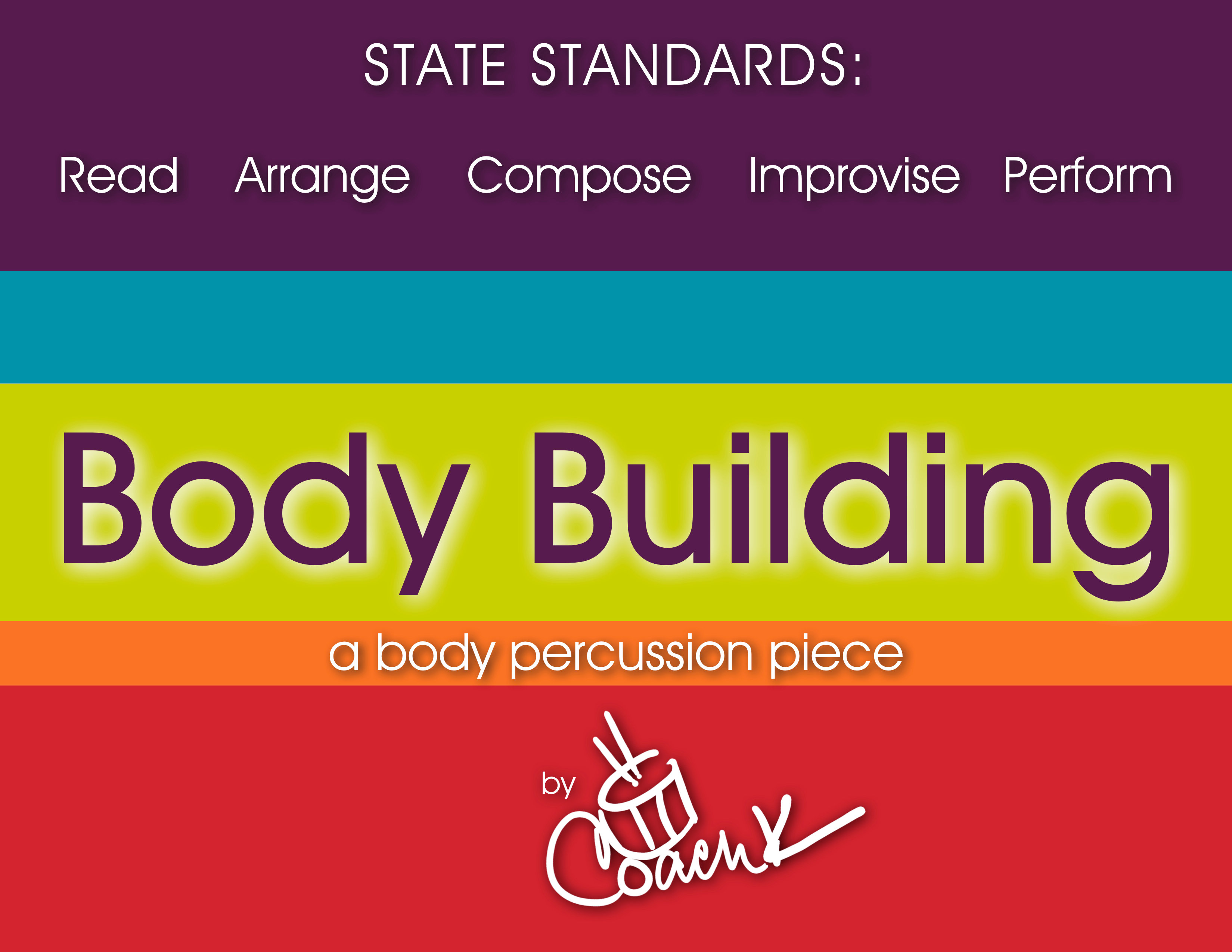 Body Building | A Body Percussion Piece | bd101