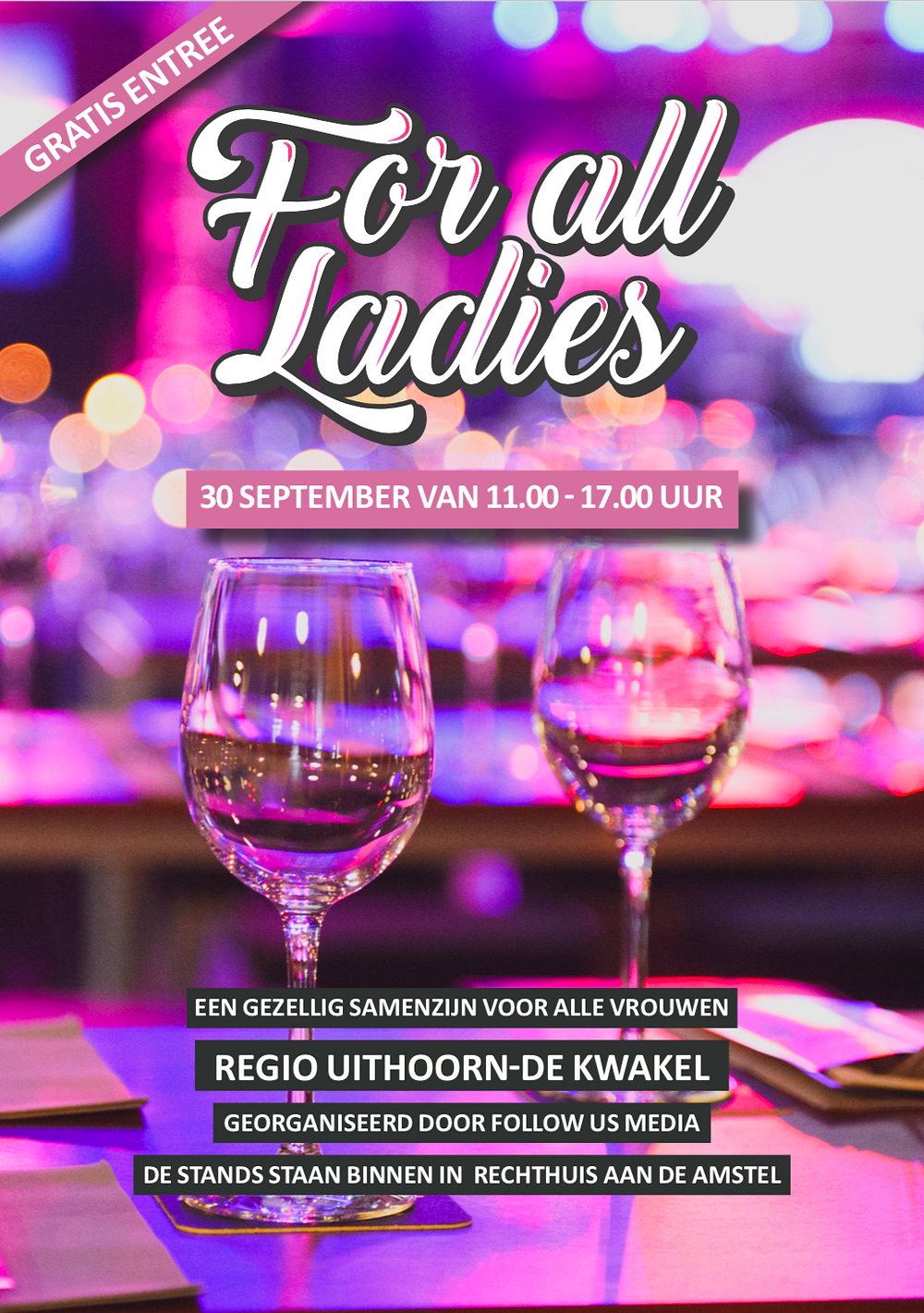 Ladies Event in Uithoorn! 30 September met Sabb's Fashion & Lifestyle