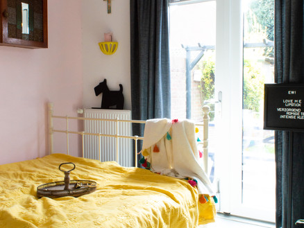 Kleurrijke slaapkamer make-over!