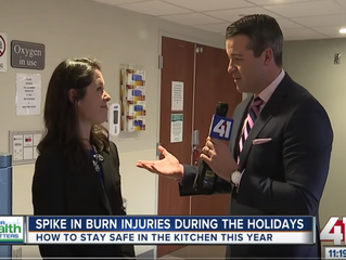 Spike in Burn Injuries During the Holidays