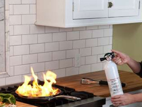 Kitchen Fires Leading Cause of House Fires