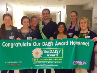 The Grossman Burn Center at Research Medical Center Celebrates with this year's Daisy Award Honoree