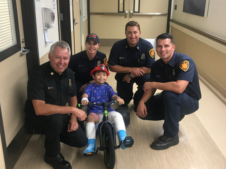 Bakersfield Firefighters to the Rescue