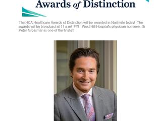 2019 HCA Healthcare Awards of Distinction